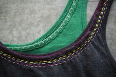 DIY Hand Embroidered T-shirt