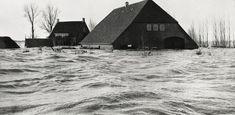 Flood in 1953... Canon van Moerdijk... the Netherlands