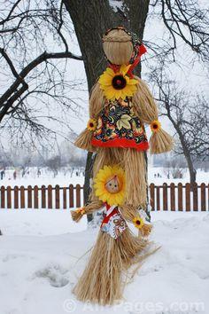 Русские национальные традиции - празднование Масленицы
