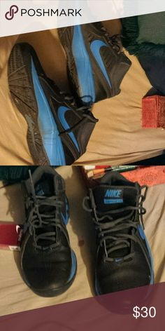 Mens nikes Blue and grey nikes Nike Shoes Athletic Shoes