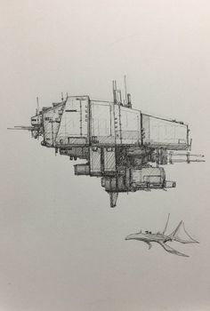 Spaceship Drawing, Spaceship Art, Spaceship Design, Space Ship Concept Art, Concept Ships, Illustration Techniques, Drawing Techniques, Ship Sketch, Starship Concept