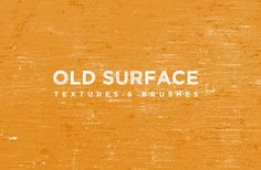 #freetextures #freedownload ~ Old Surface ~ Layer these old worn out surface textures to create some gritty and grunge backgrounds and overlays. Includes 10 textures and 10 brushes for Photoshop.