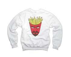 Shop for sweatshirt on Etsy, the place to express your creativity through the buying and selling of handmade and vintage goods. Funny Geek, Geek Humor, Aqua Teen Hunger Force, 2pac, Hoodies, Sweatshirts, Celine, Cool T Shirts, Swim