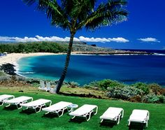 Lanai, Hawaii, United States, North America: Hulopoe Beach, Manele Bay
