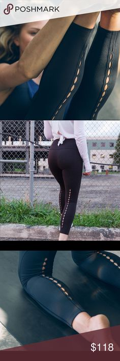 Lululemon High Times Pant (Peek) Such a cute pair of leggings, but I need the money so I'm selling them!! Only worn 1-2 times and in excellent like new condition! lululemon athletica Pants Leggings