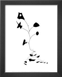 "Untitled, 1945 Prints by Alexander Calder at AllPosters.com 11""x14"" with frame $24.99"