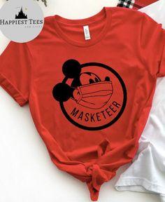 Excited to share this item from my #etsy shop: Masketeer shirt, Masked Mickey, Disney Covid, Disney corona,  Disney, Shirt, quarantine Disney, Disney Shirt, Magic Kingdom, Disney T Shirt Disney Vacation Shirts, Disney Shirts For Family, Disney Diy Shirts, Disney Crafts, Shirt Print Design, Shirt Designs, Disney World Outfits, Disney Christmas Shirts, Matching Disney Shirts