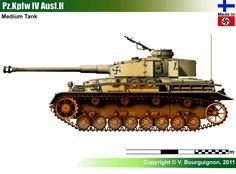 Medium Tank Pz.Kpfw IV Ausf.H