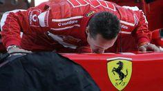Michael Schumacher - Ferrari.