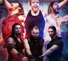 Believe in the shield: Roman Reigns, Dean Ambrose & Seth Rollins