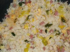 Nasi Goreng als van de Chinees Nasi Goreng, Mie Goreng, Dutch Recipes, Spicy Recipes, Asian Recipes, Healthy Recipes, Asian Foods, Healthy Food, One Pot Meals