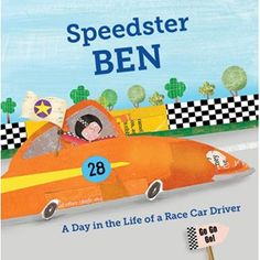 Take personalized books for kids to another level with Speedster: A Day in the Life of a Race Car Driver, a fully customizable children's book about the exhilarating life of driving race cars. If your child dreams of getting behind the wheel and zooming around, she or he will be thrilled at how this children's personalized book weaves him into the story and art of the book.On top of this full customization that touches nearly every page, you also have the chance to add a person…