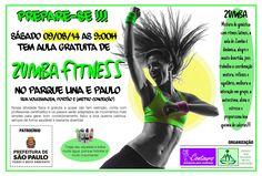 Sabado 09/08 tem aula gratuita de ZUMBA no Parque Lina e Paulo. Mais informações com fb.com/silvana.costagoncales ou WhatsApp (11)97153-0245 #beleza #coaching #espacovidasaudavel #estetica #exercicio #fashion #fit #fitclub #fitcamp #fitness #focoemvidasaudavel #moda #personaltrainer #qualidadedevida #saude #vidaativa #vidaativaesaudavel #vidasaudavel #workout #zumba