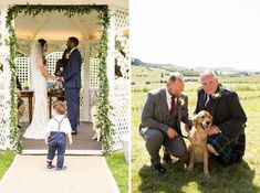 Tips on how to include pets or children in your wedding ceremony with humanist wedding celebrant Nat Rayboulds and UK wedding photographer Hannah Larkin Photography. Outdoor summer wedding for a multicultural couple with a tiny ring bearer and a gay wedding with two grooms who wanted to include their dog in their wedding Cat Wedding, Quirky Wedding, Relaxed Wedding, Woodland Wedding, Summer Wedding, Outdoor Wedding Inspiration, Wedding Ideas, Church Wedding Ceremony, Wedding Photographer London