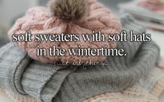 Fall and winter are my favourite <3