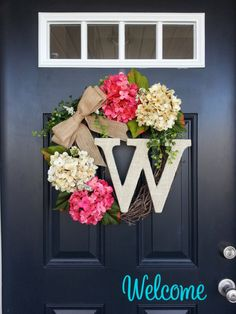Mother's Day gift - Another beautiful personalized wreath