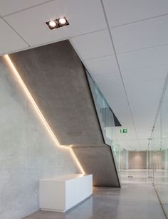 Corridor - Tag - Delta Light More: Stair Lighting, Linear Lighting, Club Lighting, Suspended Lighting, Delta Light, Stairs Architecture, Light Architecture, Led, Architectural Lighting Design