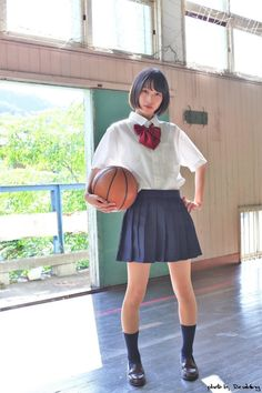 Pin on a School Uniform Fashion, Japanese School Uniform, School Girl Outfit, School Uniform Girls, Girls Uniforms, School Girl Japan, Japan Girl, Cute Asian Girls, Cute Girls