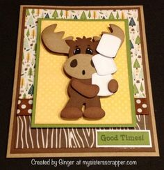 """CardzTv Stamps """"Toasted Marshmallow"""" Linky Party"""