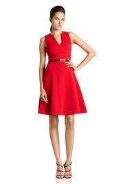 V-Neck Girly Dress. Muse.com