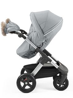 Winter Essentials Collection: The Ultimate Stroller Snowsuit for Cold Weather » Stokke Winter Kit in Cloud Grey