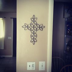 Image detail for -Cooking, Crafting & Kids: DIY Toilet paper roll wall art
