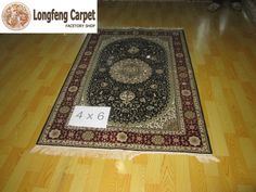 4×6 SILK CARPET   Longfeng Carpet is the Leading Handmade Silk & Wool Rugs Manufacturer in China; we have over 5000pcs hand knotted Silk & Wool Rugs in stock! longfengcarpet.co... Email: jessica@longfengc... WhatsApp: 0086 15639939630