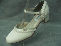 Ivory Wedding Shoes 1920s Vintage style by NewBrideCo on Etsy, $148.00