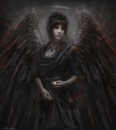 Inspiration for Rafael's vision of Elizabeth as an avenging angel in The Warrior's Prize, book 4 of the True Love Brides series of #medieval #Scottish romances by #ClaireDelacroix #Ravensmuir
