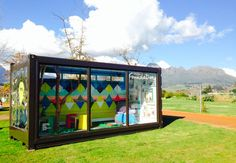 this is the kind of project done by our Design department that I was telling you about. Our WorldDesignCapital Project is in Stellenbosch for July At Root 44 market Container Architecture, Design Department, Foundation, Explore, Ship, Marketing, Creative, Frame, Projects