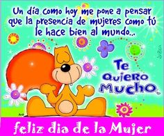 The perfect Te Quiero Mucho Animated GIF for your conversation. Discover and Share the best GIFs on Tenor. Happy Birthday Woman, Happy Woman Day, Happy Womens Day Quotes, Happy Quotes, Womens Day Theme, Woman Day Image, Happy March, Tuesday Quotes, Day Wishes