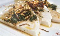Receta de Queso marinado con pechuga de pavo