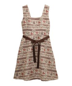 axes femme チロリアン柄ゴブランワンピース .  Axes Femme just came out with a folk tirolean dress, need it.