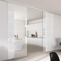 Informations About Double Glass Sliding Door - Drem Clear Glass - Obscure Printed Design - P Glass Design, Door Design, House Design, Double Glass, Sliding Door Window Treatments, Sliding Glass Door, Glass Doors, Kitchen Sliding Doors, Interior Design Kitchen