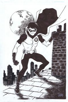Young Justice Robin by Joseph Cooper