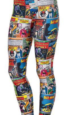 Batman Comic Leggins