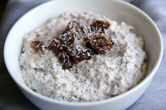 Banana Coconut Chia Pudding. Future breakfast, perhaps...