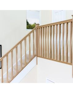 Part of our large range of Oak Spindles & stair parts, the Oak Twist Spindle x is in stock now at Jackson Woodturners. Staircase Spindles, Oak Banister, Stair Spindles, Oak Stairs, House Stairs, Staircases, Staircase Ideas, Bannister, Hallway Ideas