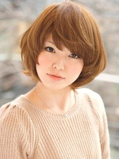 Variety of Short Japanese Hairstyle For Fall hairstyle ideas and hairstyle options. If you are looking for Short Japanese Hairstyle For Fall hairstyles examples, take a look. Messy Short Hair, Asian Short Hair, Haircut For Thick Hair, Short Hair Cuts, Asian Bob, Korean Bob, Asian Bangs, Hairstyles For Round Faces, Short Hairstyles For Women