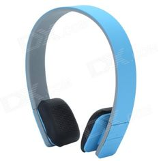 LC-8200 Bluetooth V3.0 + EDR Stereo Headset Headphones - Blue + Grey + Black
