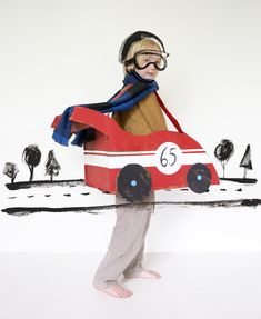 Mer Mag: Make your own cardboard car + Kids 21 instagram contest!