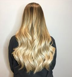 Golden blonde balayage Katie Anzalone at Parlor House Monroe