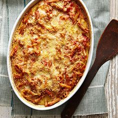 Prefer another protein? Toss in leftover chicken or steak in place of the ham in this baked pasta dish.