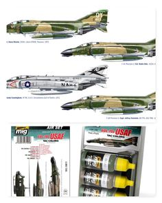 F-4 C/D/J PHANTOM ACES 1/72 Italeri (Combo-Pack)