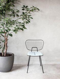 WM String Dining Chair by Studio WM for Menu.
