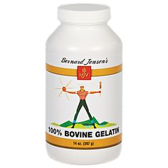 Buy Bovine Gelatin (14 Ounces Powder) from the Vitamin Shoppe. Where you can buy Bovine Gelatin and other Bernard Jensen Products products? Buy at at a discount price at the Vitamin Shoppe online store. Order today and get free shipping on Bovine Gelatin (UPC:726434104120)(with orders over $35).