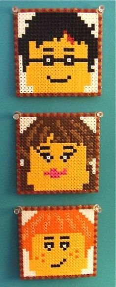 Harry Potter coasters hama perler beads