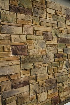 Faux-stone siding available from http://KellyWindowAndDoor.com/siding/faux-brick-stone/