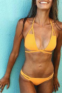 itsy bitsy mimosa bikini #ad