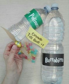 Party kit #harrypotter #burrobirra #caramelle #pozionepulisucco